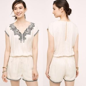 {Anthropologie} NWT Mira Romper
